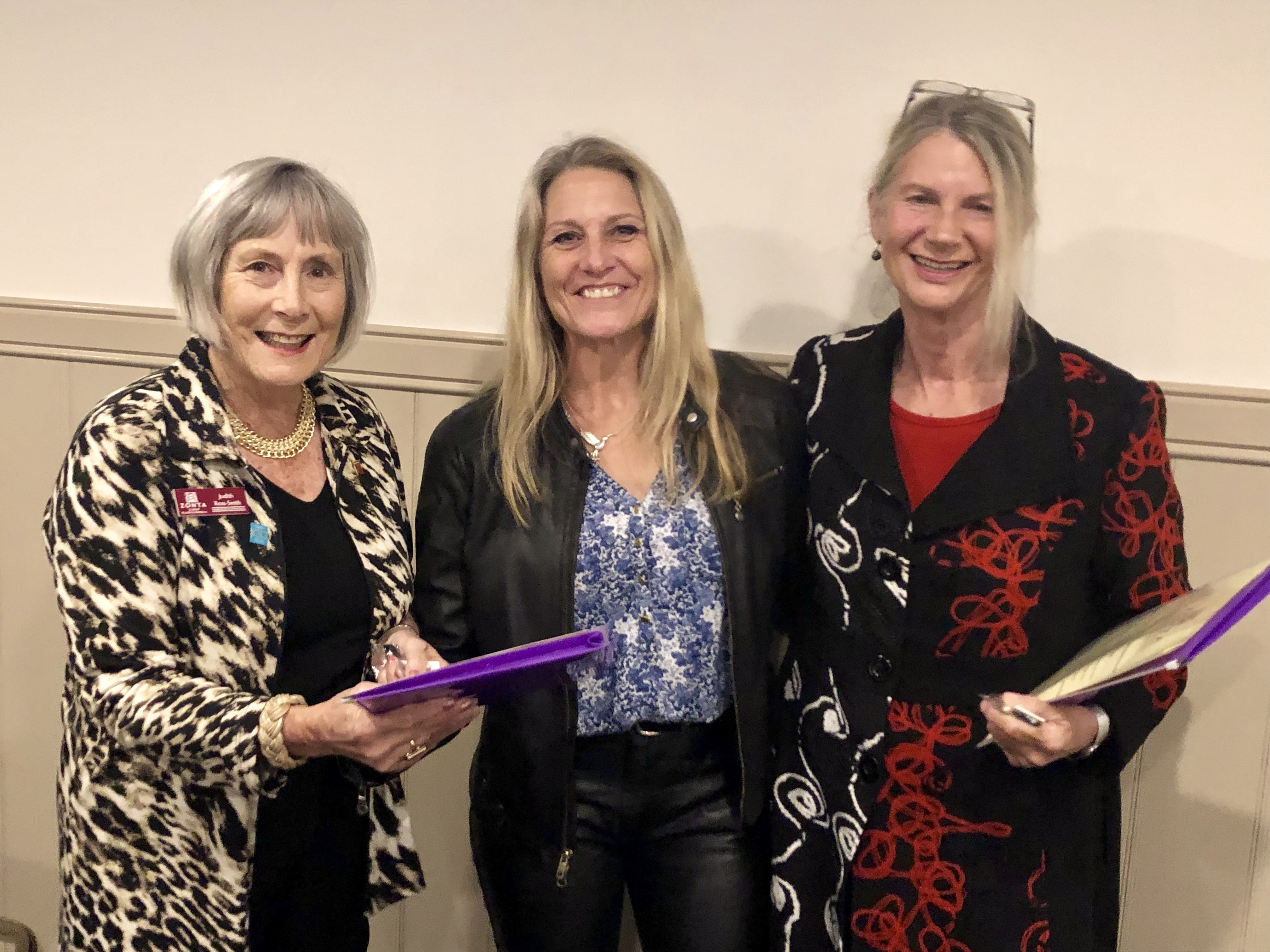 Zonta inductees June 2019.jpg